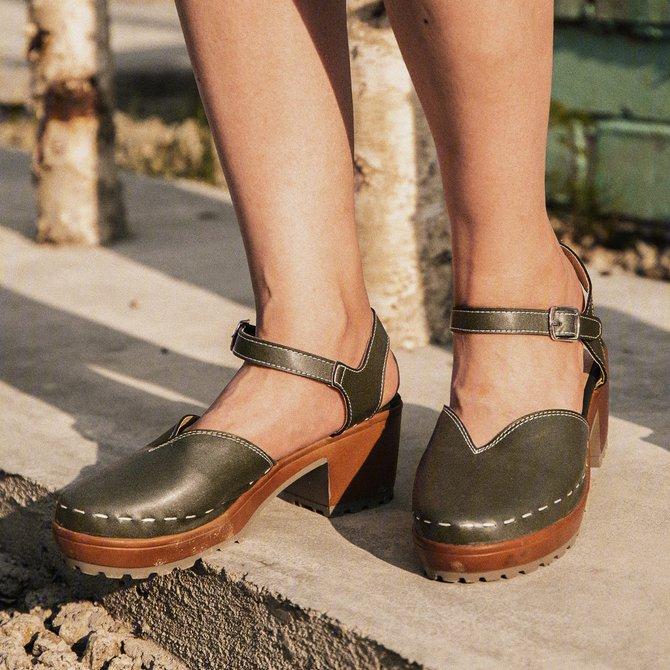Zapatos de tacon grueso tendencia verano 2016 (3
